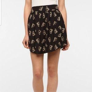 4/$20 UO Kimchi Blue Zebra Print Skirt M